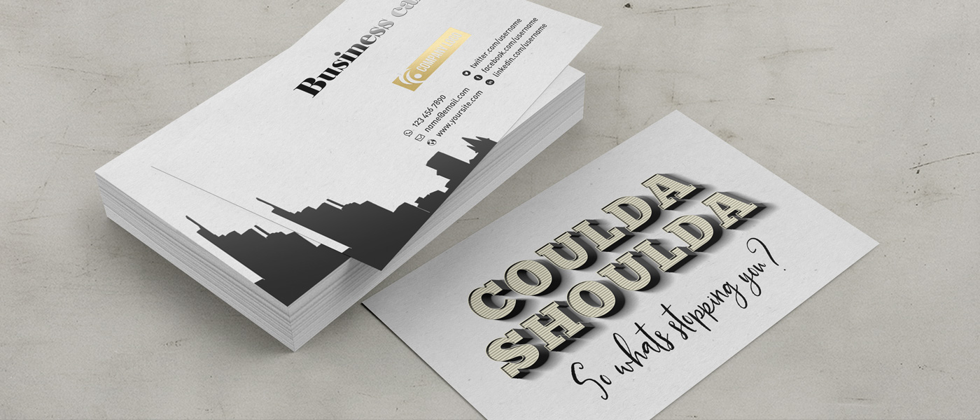 Business Card Header