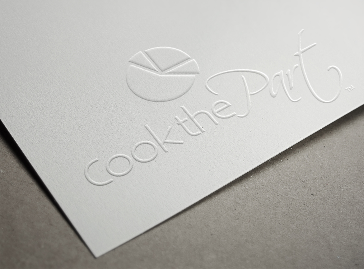 Cook the Part Logo Embossed