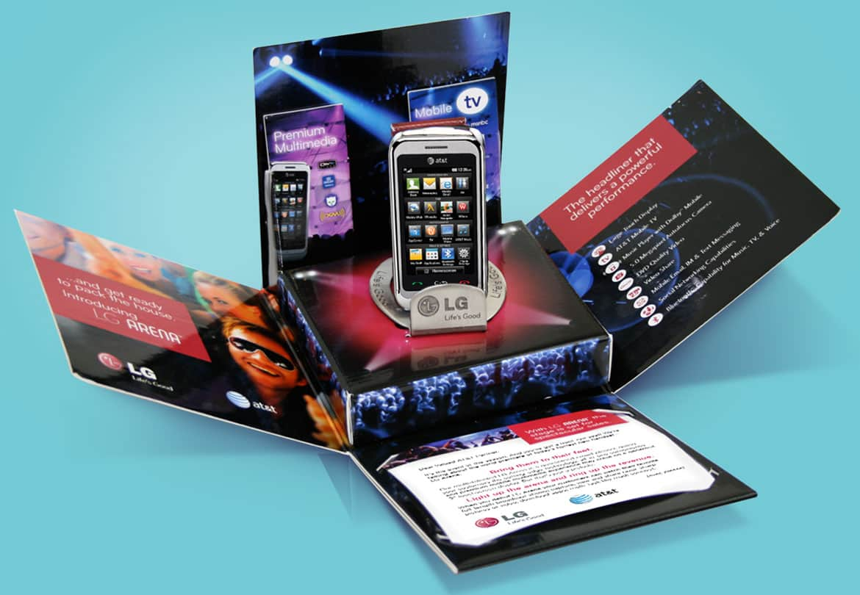 LG Arena packaging design
