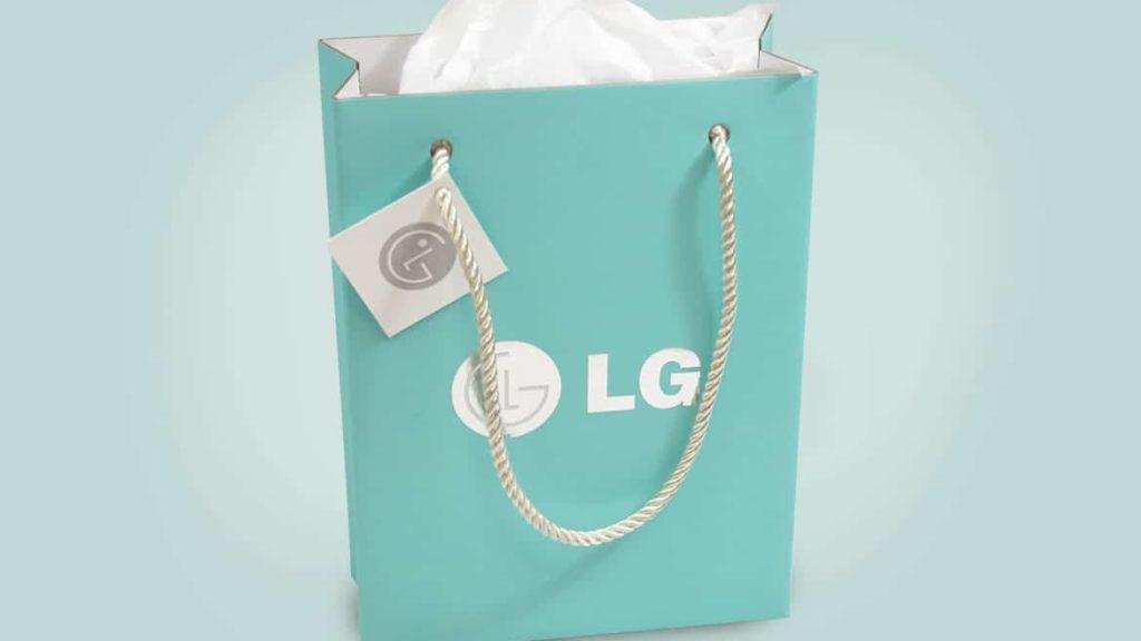 LG Encore Retail Packaging