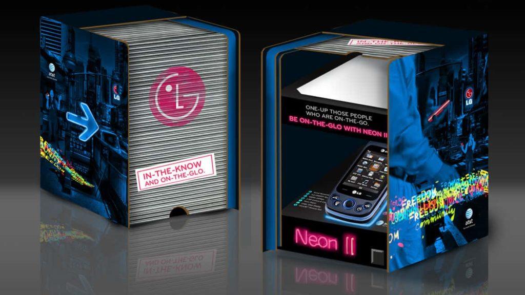 LG Neon II package design